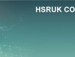 HSRUK Conference 2019