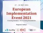 European Implementation Event 2021