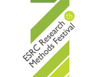 7th ESRC Research Methods Festival